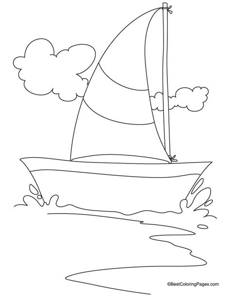 coloring pages yacht sailing yacht coloring page free sailing yacht