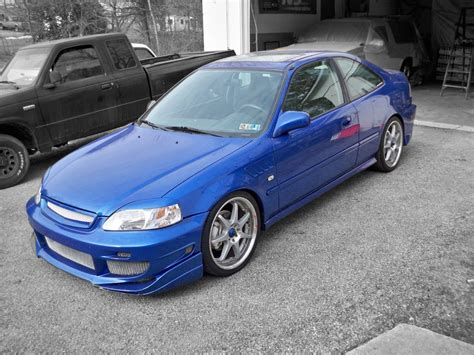 honda civic si modified 1999 honda civic si for sale lancaster pennsylvania