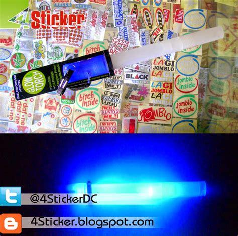 Kaos Raglan Blur Ls Bu19 4 sticker dc design cut jual lightstick jkt48 glow torch