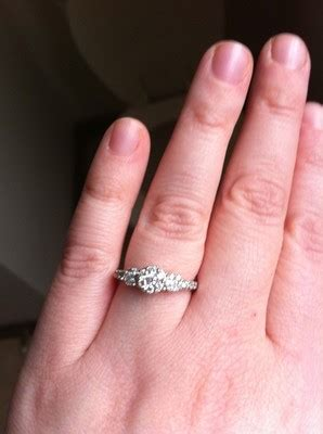 what of wedding band for a 3 engagement ring