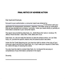 notice of personnel action template gallery templates