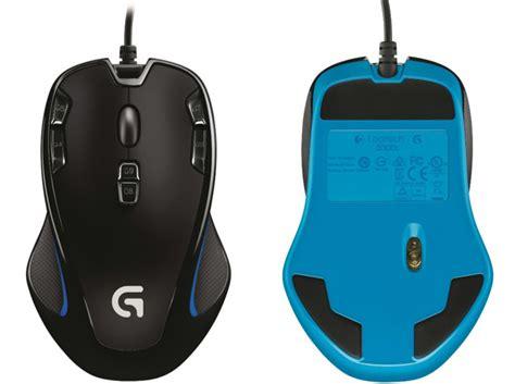 Mouse Logitech Biasa logitech g300s hadirkan kecepatan 8 kali lipat dari mouse biasa