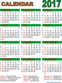 United States Of America Usa Kalender 2018 Printable Calendar 2017 For Us Pdf Free Printable Pdf