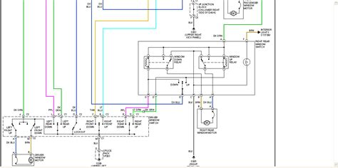 2001 chevy tahoe wiring diagram i a 2001 chevy tahoe both of the electric windows on