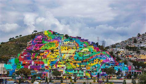 mural  ocupa  pueblo entero de mexico cultura