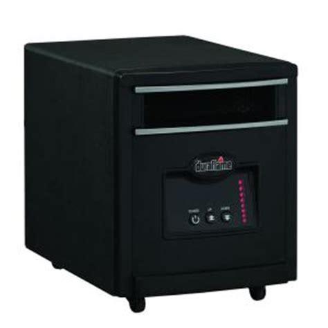 duraflame 1500 watt infrared quartz electric portable