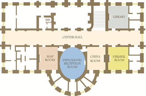 white house floor plans white house maps npmaps com just free maps period