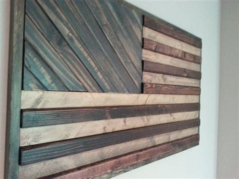 Wall 3d Wood Bw2718 Blue by American Flag Theme Wood Wall By Weatheredwoodwalls On