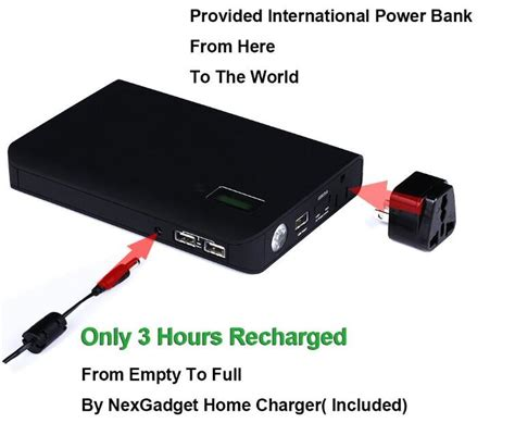 Power Bank Advance Digitals laptop power bank 24000mah digital display with 240v au plugs ebay