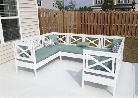 Diy Outdoor Sofa Sectional The Awesome Of Diy Outdoor Sectional Ideas Tedx Decors