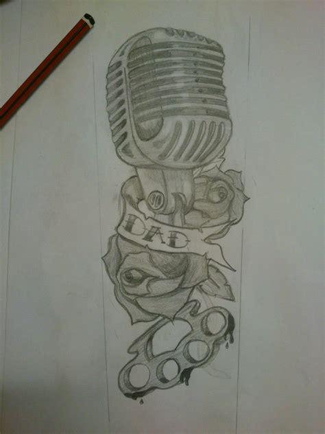 microphone tattoo sketch mic tattoo sketch by joeymak92 on deviantart