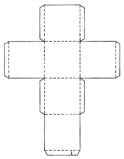 a cube template god gives gifts vbs box templates