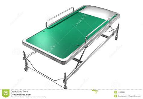 er bed emergency bed stock image image 13182601