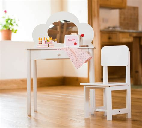 Kid Vanity Table And Chair Childres White Dressing Table Chair Set Just 163 49 99