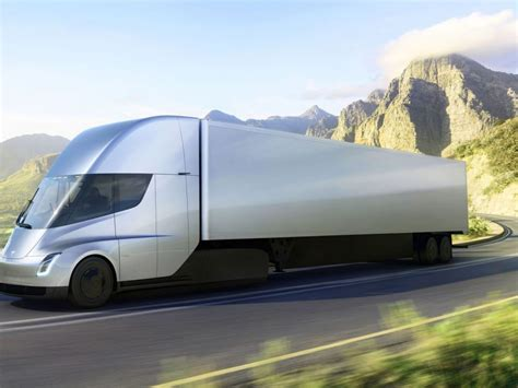 2020 Tesla Semi by En Images Tesla Semi Le Camion 233 Lectrique De 2020