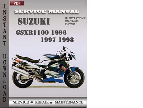 car service manuals pdf 1996 suzuki x 90 windshield wipe control suzuki gsxr1100 1996 1997 1998 factory service repair manual down