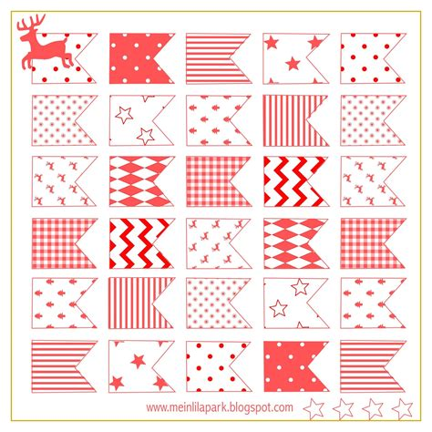 printable xmas stickers free printable christmas flags ausdruckbare sticker