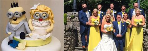 imagenes minion boda una pareja brit 225 nica celebra su boda con tem 225 tica de los