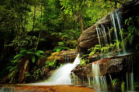 beautiful waterfall on the river wallpapers and images