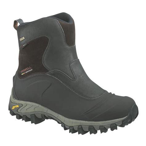 merrell mens winter boots s merrell 174 thermo juneau waterproof boots 130391