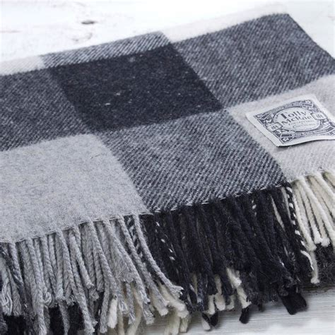 luxury picnic rug luxury check picnic blanket by tolly mcrae notonthehighstreet