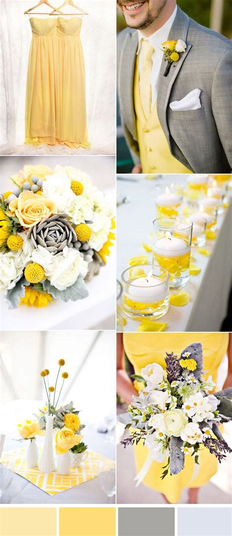 five beautiful wedding colors in shades of grey wedding colors white wedding decorations