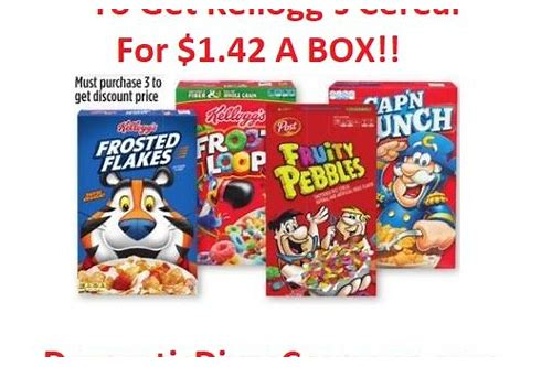 kellogg's cereal coupons june 2018