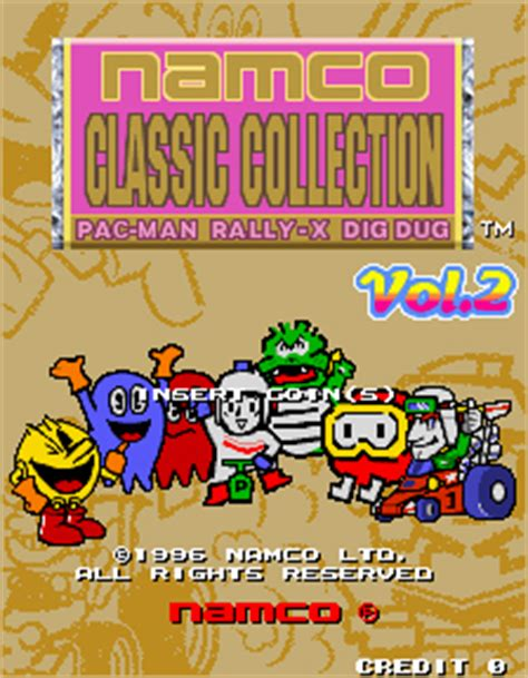 classic collection volume 2 0007336470 namco classic collection volume 2 videogame by namco