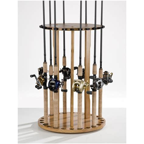 Fishing Rack organized fishing 24 rod floor rod rack 520930 accessories