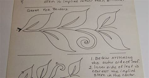 quilting livre tutorial terapia stitchin livre movimento estilizado vine