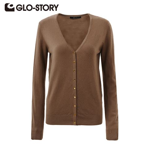 Winter Sweater glo story sweater cardigans 2016 autumn winter knitted sweater jumper v