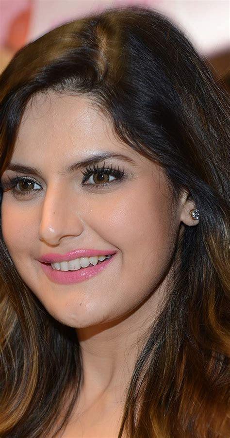 actress name with m zarine khan imdb