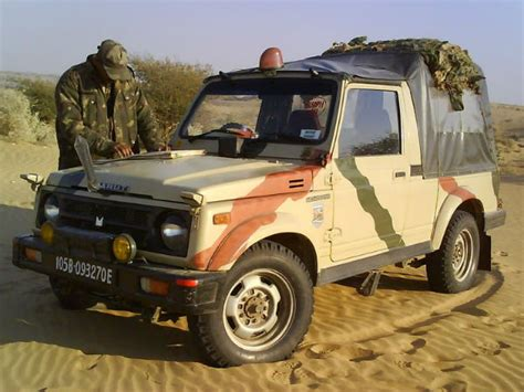 indian army jeep modified maruti indian army phases out auto