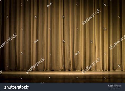 curtain scene scene a curtain theater stock photo 408184918 shutterstock