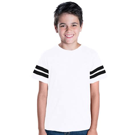 Blouse Ribbed 6137 l a t 6137 youth jersey football t shirt tsc apparel