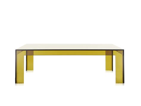 buy the kartell invisible coffee table at nest co uk