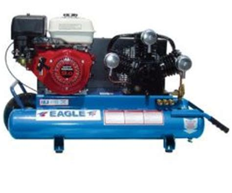 eagle ttg air compressor  cfm  psi gas