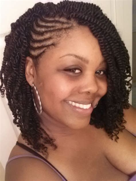 hairstyles for fine kinky hair cornrows with twists natural hair style braids