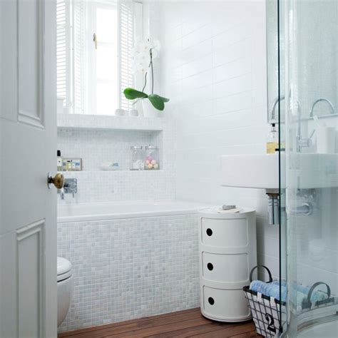 white mosaic bathroom bathroom elegant and contemporary house housetohome co uk