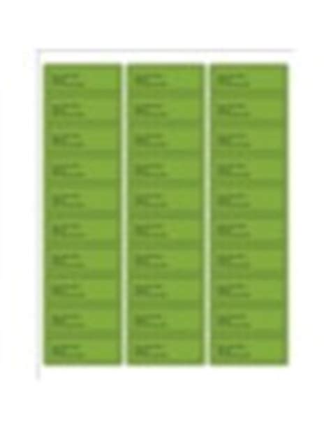 Templates Green Background Address Labels 30 Per Sheet Avery Avery 6241 Label Template