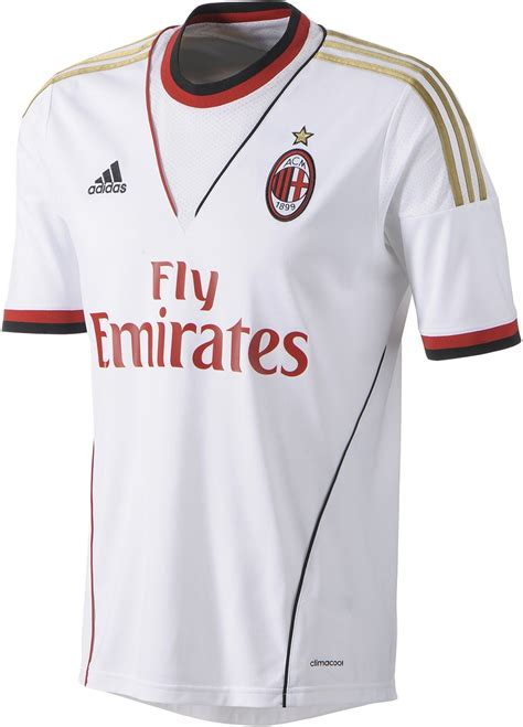 Jersey Ac Milan Away Official adidas z27790 ac milan football soccer away shirt 2013 14