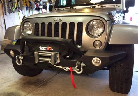 rugged ridge winch cover how to install a rugged ridge heavy duty 8 500 lb winch on your 1987 2016 jeep wrangler yj tj