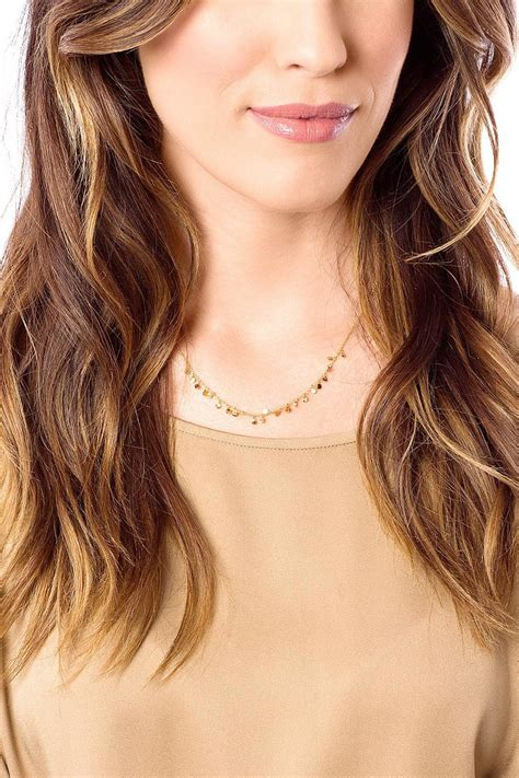 Jh Minie Chole 100 Import gorjana mini necklace from canada by two fifty two