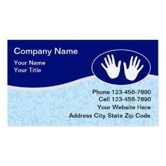 massage therapy business cards 1600 massage therapy