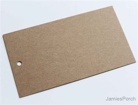 craft paper and card 200pcs 90mmx50mm3 9 16x2 brown kraft paper card