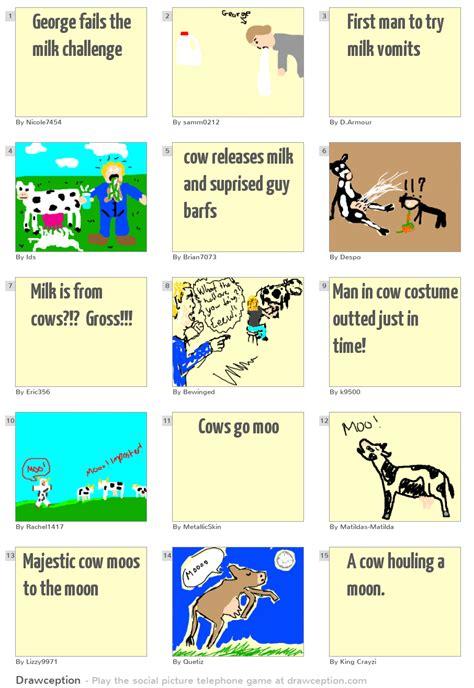 milk challenge george fails the milk challenge