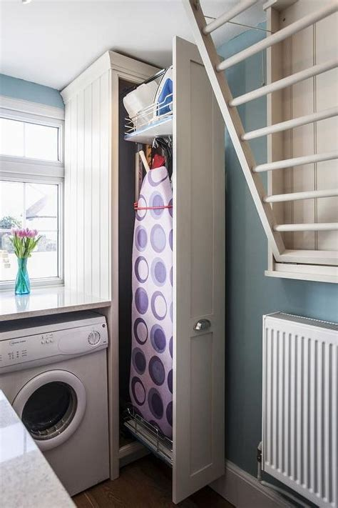 Laundry Room Ironing Board Transitional Laundry Room Laundry Ironing Board