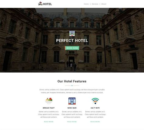 20 Professional Hotel Email Marketing And Newsletter Templates Templateflip Hotel Email Template