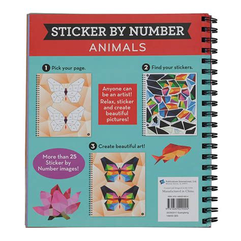 Sticker By Number Books
