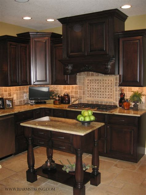 custom kitchen backsplash countertop and flooring tile custom kitchen cabinets island with granite countertops
